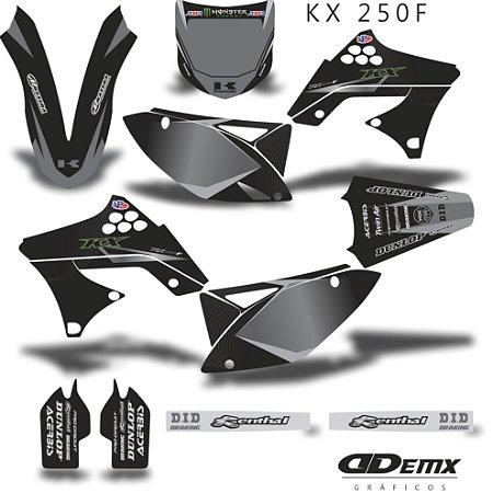 Kit Adesivo 3M Gray Kxf 250 2009 - 2012