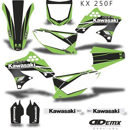 Kit Adesivo 3M Green Kxf 250 2009 - 2012