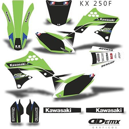 Kit Adesivo 3M Replica Kxf 250 2009 - 2012