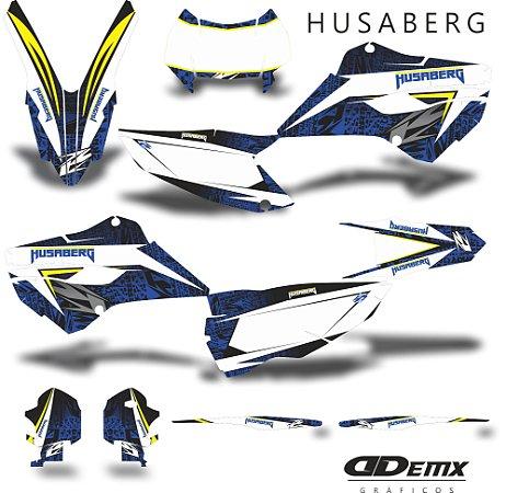 Kit Adesivo 3M gradient Husaberg