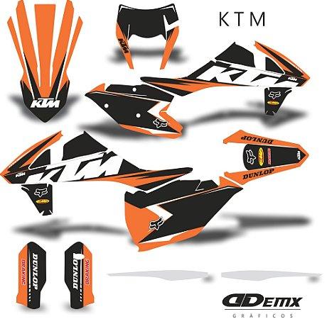 Kit Adesivo 3M ktm edition