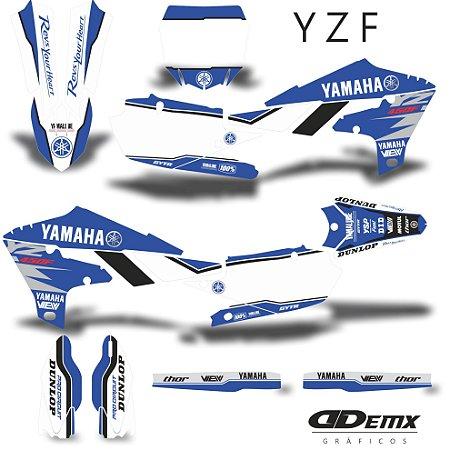 Kit Adesivo 3M Yamaha ACE  S/ Capa de banco