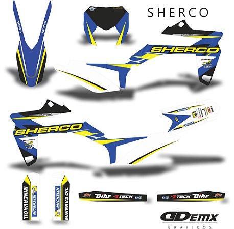 Kit Adesivo 3M sherco DIVIDE SHERCO  S/ Capa de banco