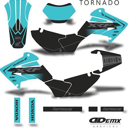 Kit Adesivo 3M tornado RUST HONDA BLUE