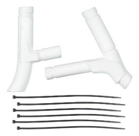 Protetor De Quadro Lateral Crf 230 Branco Pro Tork
