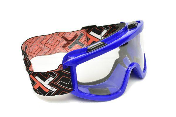 óculos  Transparente Mattos Racing Azul