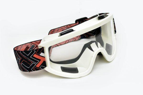 óculos Transparente Mattos Racing Branco