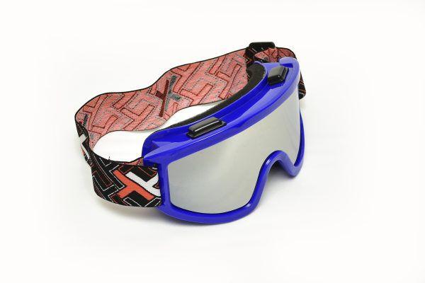 Óculos Espelhado Mattos Racing Azul