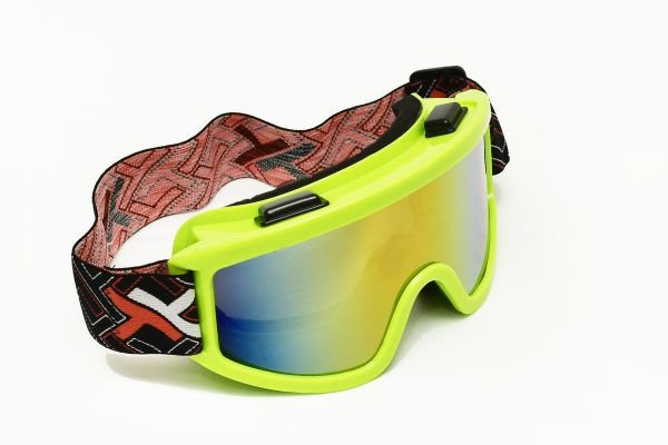 Óculos espelhado Mattos Racing Verde Fluor