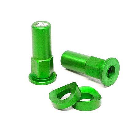 Acabamento trava de pneu - Verde