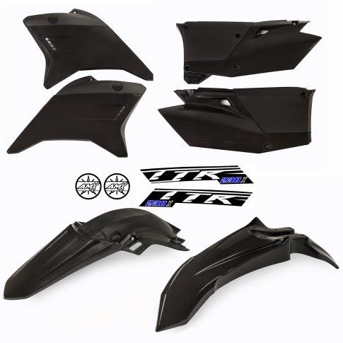 Kit plástico TTR 230 preto