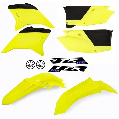 Kit plástico TTR 230 amarelo neon