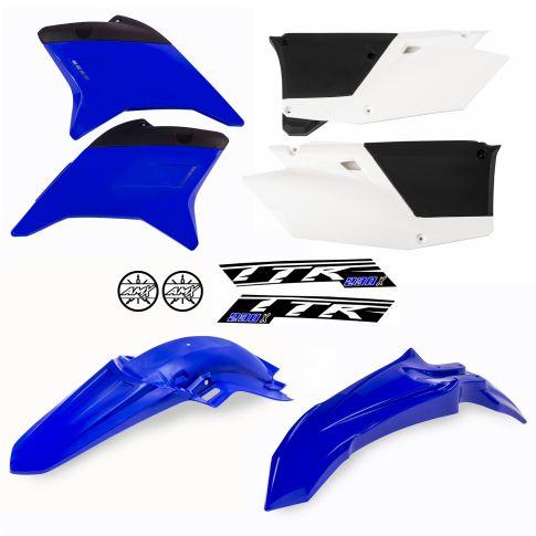 Kit plástico TTR 230 azul/branco