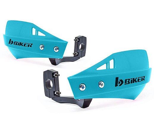 Protetor De Mão Biker Mx1 Azul neon