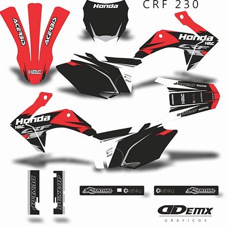 Kit Adesivo 3M KIT RED INK CRF 230