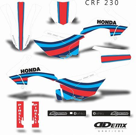 Kit Adesivo 3M -  KIT  RACEWAY CRF 230