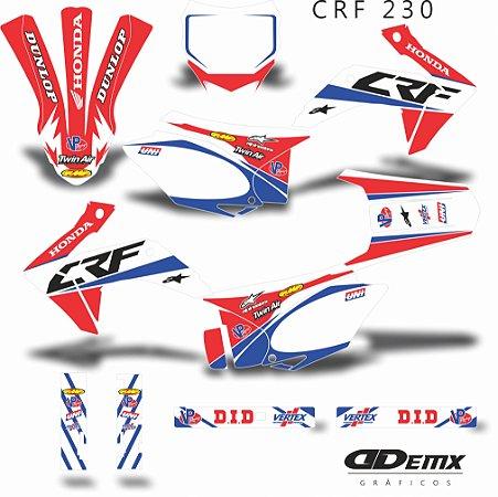 Kit Adesivo 3M - KIT SEELY CANARDI CRF 230