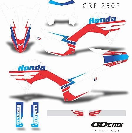 Kit Adesivo 3M  SKDA CULT Crf 250F 2019
