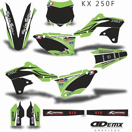 Kit Adesivo 3M GREEN SPEAR Kxf 250