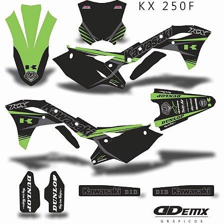 Kit Adesivo 3M TRO  LEE DARK Kxf 250
