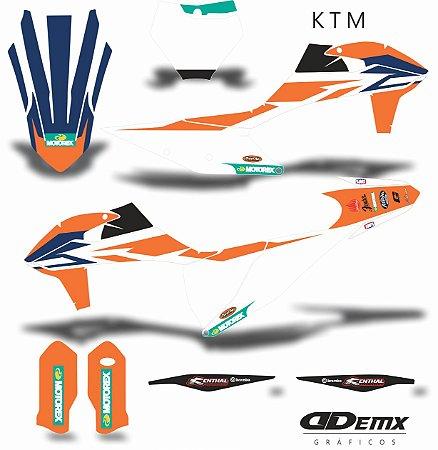 Kit Adesivo 3M ktm REPLICA MOTOREX