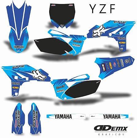 Kit Adesivo 3M YZF PINK FOX