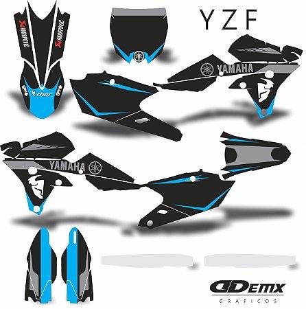 Kit Adesivo 3M  YZF THOR BLUE