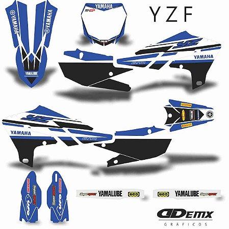 Kit Adesivo 3M YAMAHA MONSTER BLUE