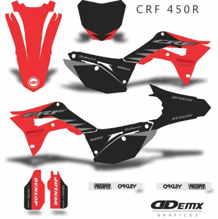 Kit Adesivo 3M Honda SVG HRC Crf 250/450R