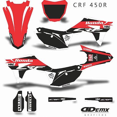 Kit Adesivo 3M Honda HRC CALIGINOUS Crf 250/450R
