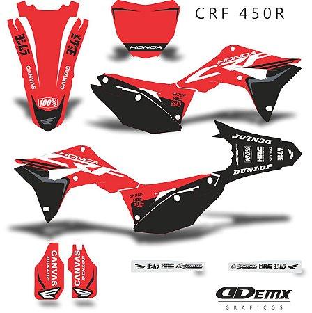 Kit Adesivo 3M Honda HONDA INK CROSS Crf 250/450R