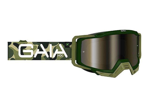 Óculos Gaia Mx army Anti-embaçante
