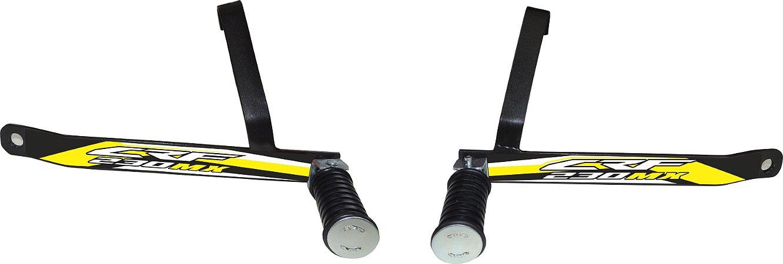 Suporte De Pedaleira Traseira Crf 230 - Fácil Instalação - Amarelo