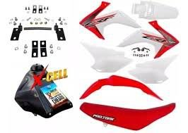 Kit Crf 230 2018 Avtec Original Adaptável Xr 200+ferragens