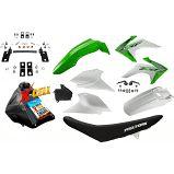 Kit Crf 230 2018 Top Avtec Verde Adaptável Nxr + Ferragens