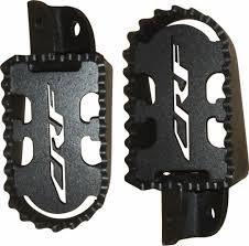 Pedaleira De Aço Lift Preta Crf 230 - Crf 250f
