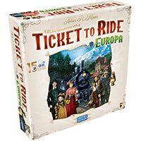 Ticket to Ride: Europa - 15 Anos - Caixa com Avaria