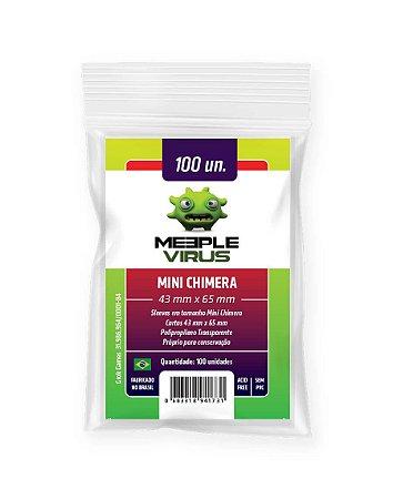 Sleeves Mini Chimera (43 mm x 65 mm) - Meeple Virus