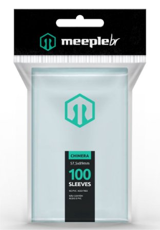 Sleeves Premium Chimera (57,5 mm x 89 mm) - Meeple BR