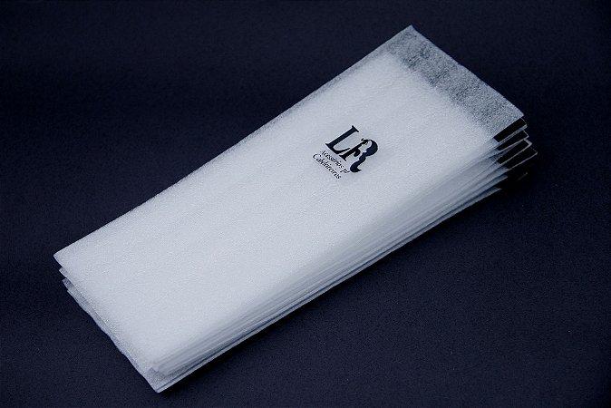 Papel com Velcro para Mechas Tam G - 18 unidades