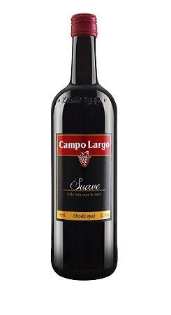 Vinho Campo Largo - Tinto Suave 750ml