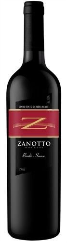 Vinho Zanotto Bordô - Tinto Suave 750 ml