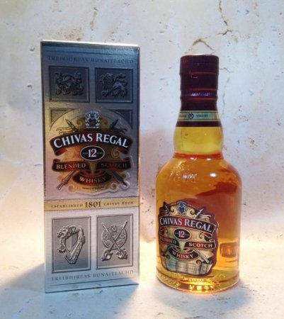 Whisky Chivas Regal 12 anos 200 ml