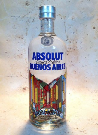 Vodka Absolut - Edição Buenos Aires 750ml