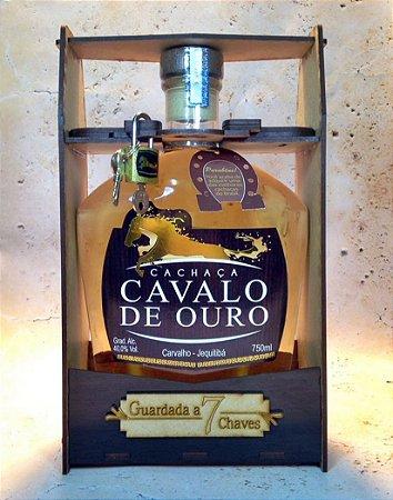 Cachaça Cavalo de Ouro Especial 750ml