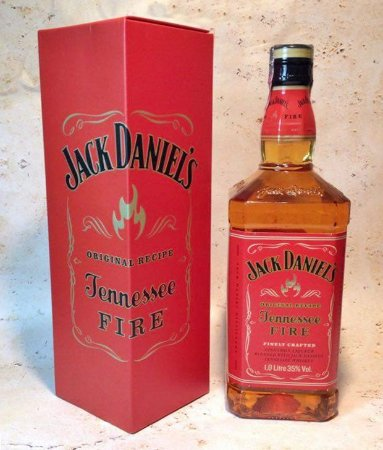 Whisky Jack Daniel's Tennessee Fire 1 litro