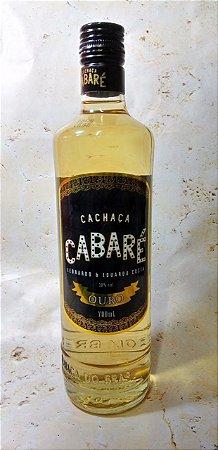 Cachaça Cabaré Ouro 700ml