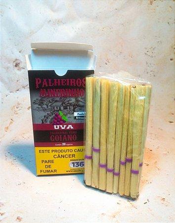 Cigarro de Palha Palheiros Mineirinho Uva 20 Unidades