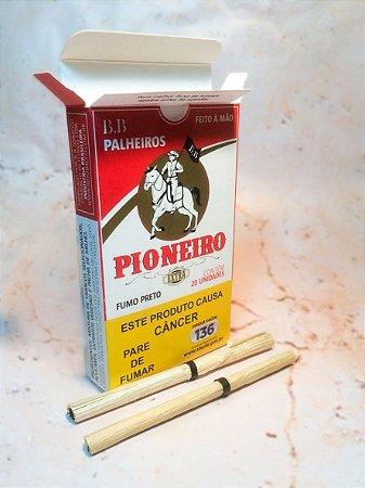 Cigarro de Palha Pioneiro C/ 20 unidades