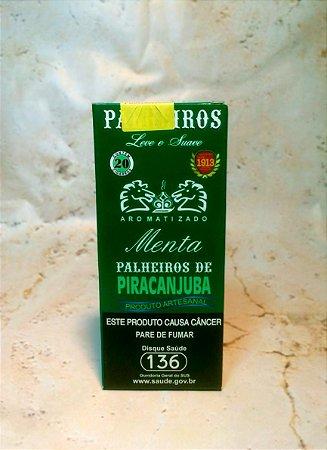 Cigarro de palha Piracanjuba Menta c/ 20 unidades